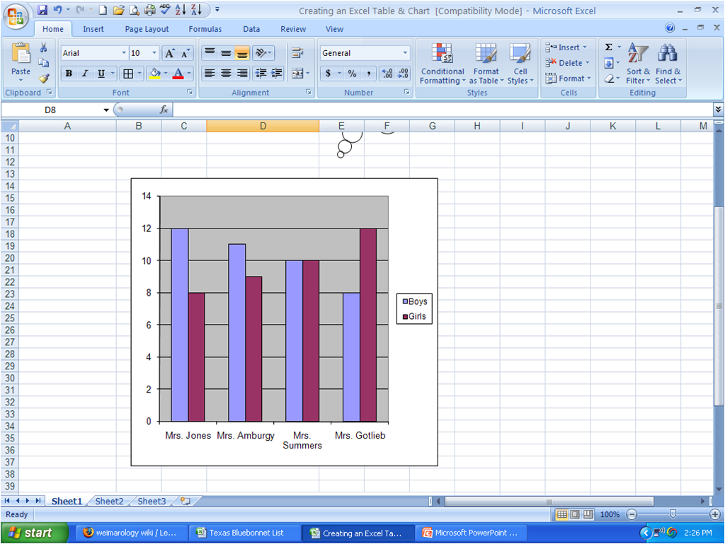 weimarology / Learning Excel